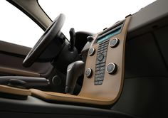 nordic light plywood interior package on the Volvo S40