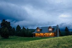 Powell, MT #9952 Log Home | Real Log Homes since 1963 | Custom Log Homes | Log Home Floor Plans | Log Cabin Kits