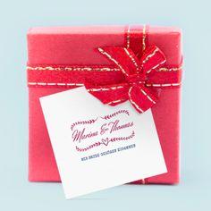 Hochzeitsanhänger-Geschenkkärtchen für Give Aways: Wir beide. Online selbst gestalten und bei uns drucken lassen