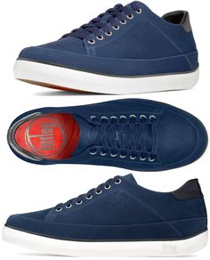 #FitFlop Fitness Schuhe - Super T Sneaker, Canvas, blau. Ballerinas, Clogs, Fitflop, Super, Sneakers, Fashion, Fitness Shoes, New Shoes, Sandals