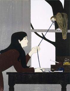 Will Barnet, Silent Seasons - Winter, 1968