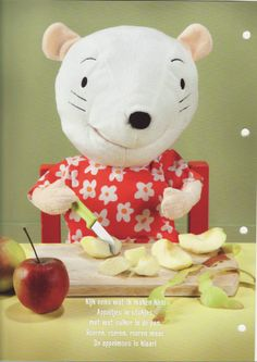 Njammie fruit! Restaurant Themes, Tutti Frutti, Fruit, Hello Kitty, Preschool, Teddy Bear, Toys, Language, Apples