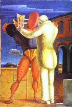 Giorgio de Chirico (1888 - 1978) | Metaphysical Art | The Prodigal Son - 1922
