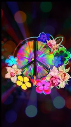 Peace will always a beauty and calm way to live your life. Paz Hippie, Hippie Peace, Happy Hippie, Hippie Love, Hippie Art, Hippie Style, Hippie Chick, Hippie Crafts, Hippie Things