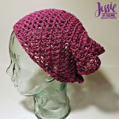 Spring Kerchief free crochet pattern by Jessie At Home - 2