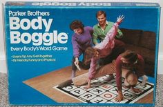 Body Boggle - who says spelling can't be kinesthetic!