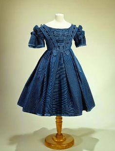 In the Swan's Shadow: Young girl's dress, ca. 1860