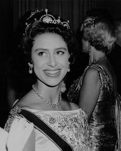 """margaretroses: """"Princess Margaret at a reception at Mansion House in honour of her return from her West Indian tour, 12 May """" Duchess Of York, Duke And Duchess, Queen's Sister, Daughter, Young Queen Elizabeth, Margaret Rose, Royal Uk, Royal Blood, Royal Jewels"""
