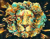 Lion Illustration for album art by Jacqui Oakley and Polystudio. Lion Illustration, Digital Illustration, Cover Art, Cd Cover, Halloween, Album Covers, Book Covers, Cover Design, Art Photography