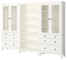 HEMNES Storage Combination  		For those who are unsure of what to do with blank walls, try filling them up with bookshelves. It is... more »  		$935.00