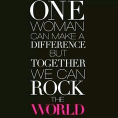 One woman can make a difference but together we can rock the world, buying from a younique rep will help sexually assaulted women. Younique have set up a retreat to help validate motivate and inspire women. We are not just a money grabbing company. We believe women should inspire women. Want be make an order or join us helping women around the world msg me today www.youniqueproducts.com/gemmaclairebrown