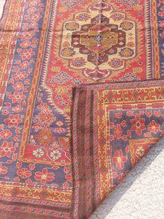 Size:8 ft by 5 ft Handmade Kilim Afghan Tribal Sumak Best