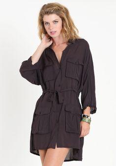 Militaria Dress By Cheap Monday 98.00 at threadsence.com