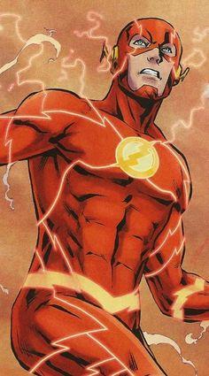 BA in his best Kid Flash, Flash Art, Flash Barry Allen, Flash Comics, Dc Comics Art, Marvel Dc Comics, Comic Books Art, Comic Art, Dc Speedsters