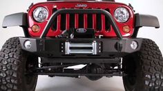 Expedition One Jeep Wrangler JK Core Series bumper install