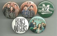 """This listing features a set of pins from the critically acclaimed, (now classic) TV show """"Freaks and Geeks"""". If you're looking at this listing, you obviously know what a great show this was and that i"""