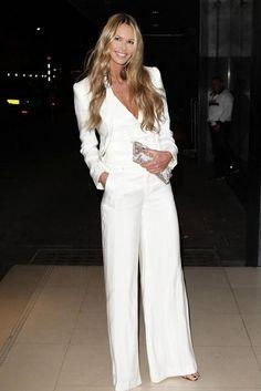 eleganter weißer Anzug für Frauen