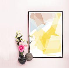 Krystal gul fås på juliemunk.com