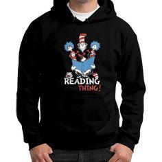 Read Across America Gildan Hoodie (on man) Shirt
