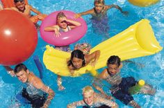 Having the right games to play can turn a familiar old swimming pool into a new and exciting aquatic playground. Not only is it a good way to combine exercise with fun, but having fun, easy and structured games makes any pool party an instant hit with swimmers of any level or age. Here are some suggestions for hours of entertainment.