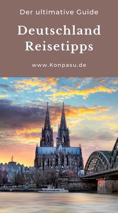 Guide für einen Urlaub in Deutschland.