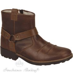 Men's winter leather boots