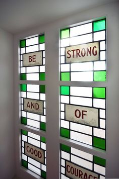 A window in a London home.