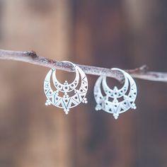 Gypsy Silver Earrings