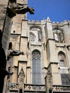 Narbonne: Gargouilles de la cathédrale Saint-Just-et-Saint-Pasteur - France-Voyage.com