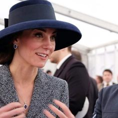 Tiffany hat, 9th March 2017,at the unveiling of the new Iraq Afghanistan Memorial