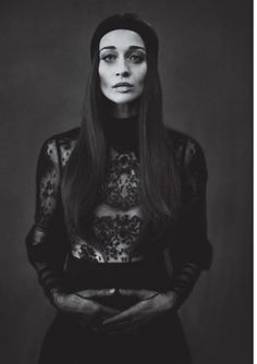 I used to love Fiona SO much  its been a while I wonder if I still will.  Fiona Apple W magazine