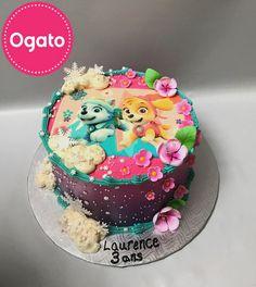 Gâteau Stella et Everest (Glaçage)