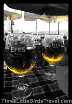 Efes beer! Essential for any trip to Istanbul - Turkey.