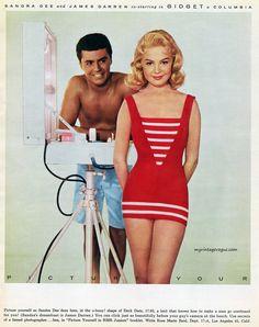 Rose Marie Reid 1959 Sandra Dee & James Darren | myvintagevogue