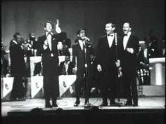 Birth of The Blues -- Rat Pack: Sammy Davis, Jr. Performing with Frank Sinatra, Dean Martin short version
