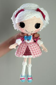 Amigurumi pattern for Lalaloopsy Suzette la Sweet by Epic Kawaii