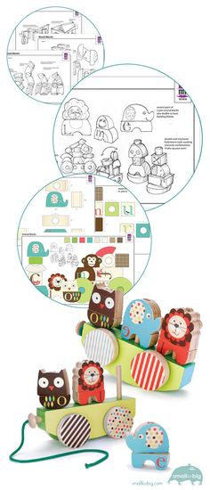 Mari Richards - Freelance Toy Designer - Wooden Toy Designs for Skip Hop. How a Toy Becomes a Toy