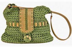 Louca por artes - Bolsas Crochet Handbags, Crochet Clutch, Crochet Purses, Crochet Bags, Love Crochet, Crochet Hooks, Beautiful Crochet, Knit Crochet, Online Bestellen