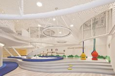 InKids with Linefriends Playground, Beijing, China Kids Indoor Playground, Park Playground, Creative Kids Rooms, Kids Cafe, Art Activities For Kids, Co Working, Kids Corner, Cool Rooms, Kid Spaces