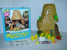 eBay | Vintage Kenner TREE TREETOTS MOUNTAIN TOTS 100%+BOX VGC