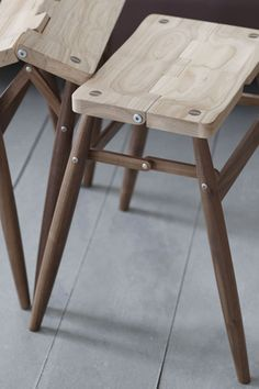 """Imo"" Folding Stool by Russell Pinch"