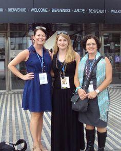 Rachel, Jennifer & Lois at the show