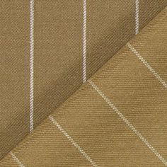 Triple Pinstripe 2 - Poliéster - Lã virgem - castanho claro