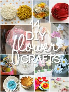 14 DIY Flower Crafts for Weddings or Spring - Blissfully Domestic