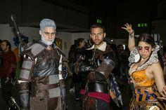 The witcher cosplay, philippa eilhart, lambert, geralt