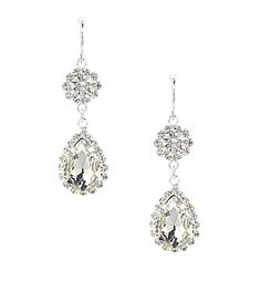 Cezanne Rhinestone Drop Earrings #Dillards