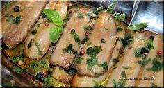 Filetti di Aringa in marinata veloce, aringa marinata