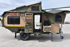 Pop Up Camper with Bathroom . Pop Up Camper with Bathroom . This Custom Camper Van Can Sleep A Family Of 6 Truck Camper, Camper Box, Off Road Camper Trailer, Popup Camper, Diy Camper, Camper Trailers, Camping Trailer Diy, Expedition Trailer, Overland Trailer