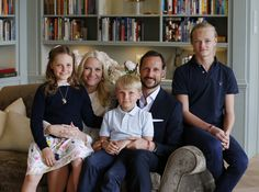 The Norwegian Royal Court has released new photos of Crown Prince Haakon and Crown Princess Mette Marit on the occasion of their 40th birthday.