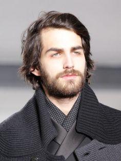 Medium and Messy - Men's Runway Hairstyles 2013